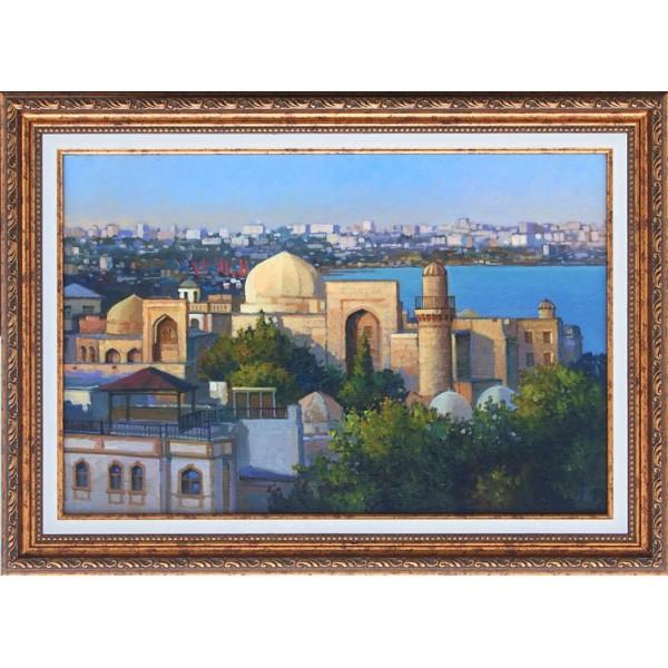 Баку. Вид на старый город