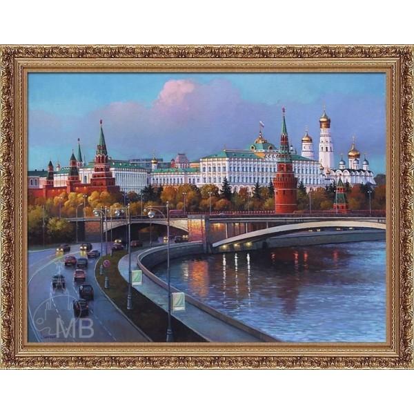 Панорама Кремля. Вечер