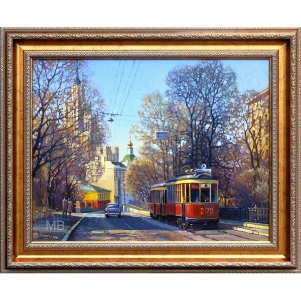 Москва 50-х. Яузский б-р